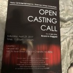Open Auditions for Stage Play in Charlotte North Carolina