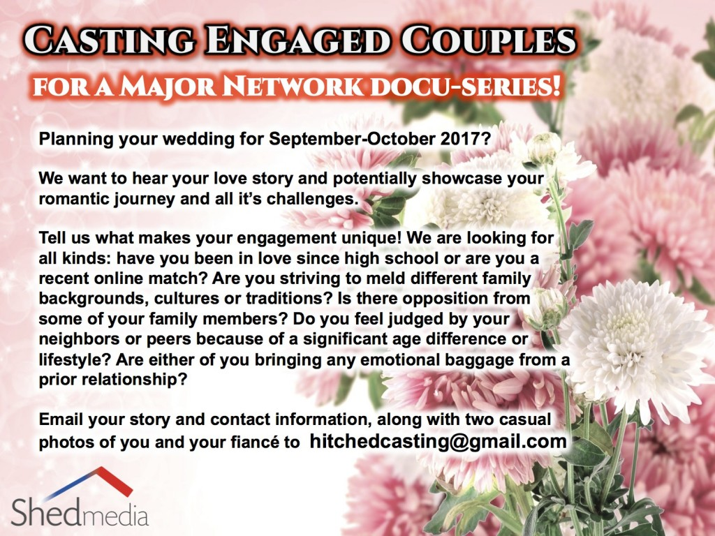 Hitched reality show casting