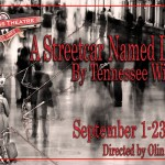 "Theater Auditions in Austin Texas for ""A Streetcar Named Desire"""