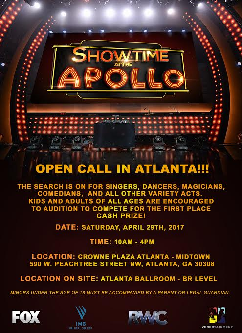 Showtime at the Apollo auditions