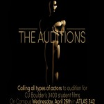 Auditions in Boulder Colorado for Student Film