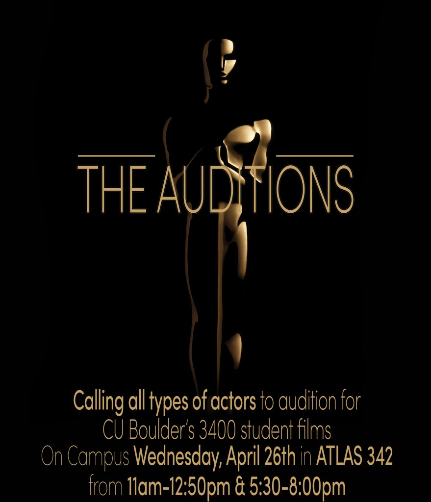 Auditions in Boulder CO