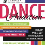 Dancer Auditions in Chicago for Mandala Summer Series