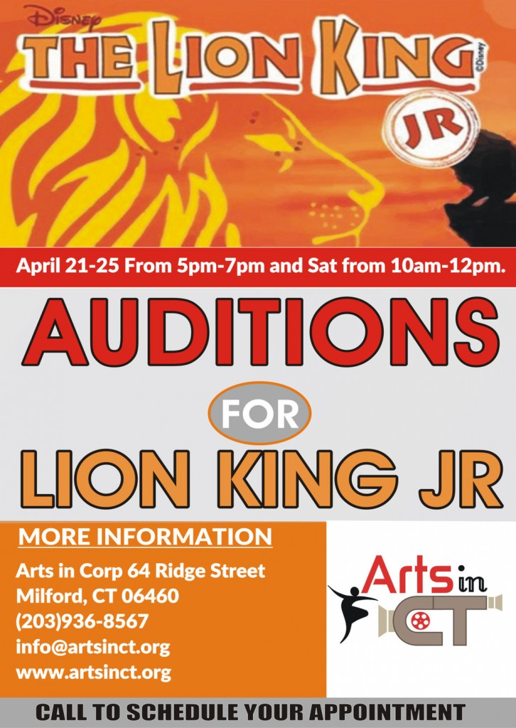 Lion King Auditions