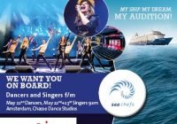 Cruise Line auditions