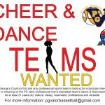 Auditions in Prince George's County Maryland for Cheerleaders and Dance Teams