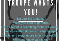 Baltimore Maryland dance auditions