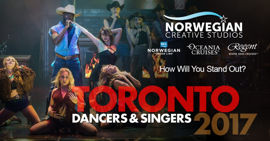 Toronto singer and dancer auditions