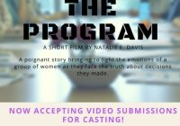 casting notice flyer