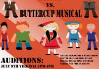 Auditions in DC, Maryland and Virginia for musical play