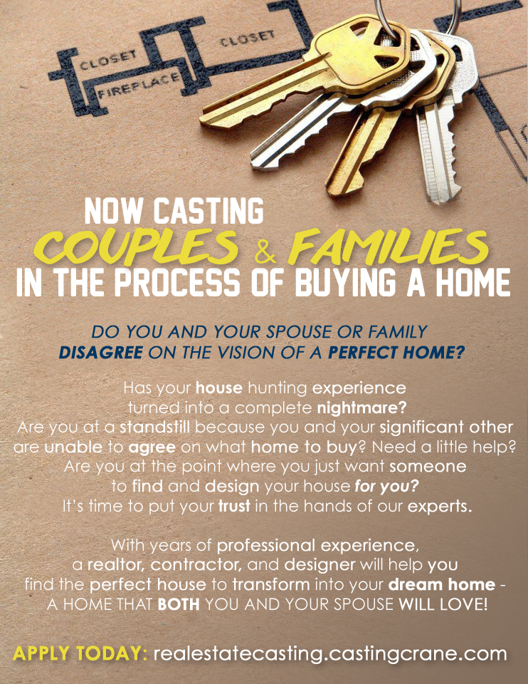 House hunting TV show cast