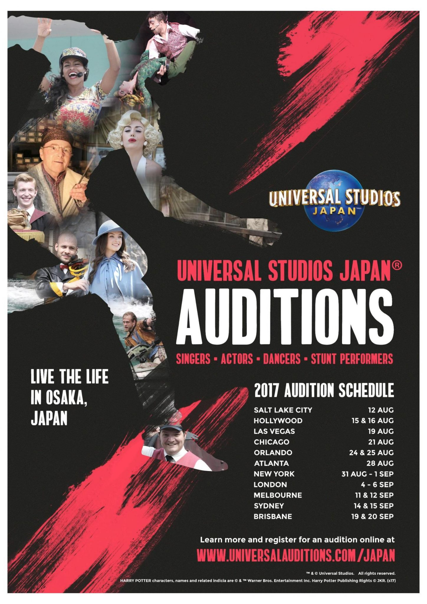 Auditions In Australia London And Nationwide In The Us