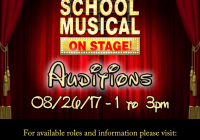 Disney High Scgool Musical Auditions