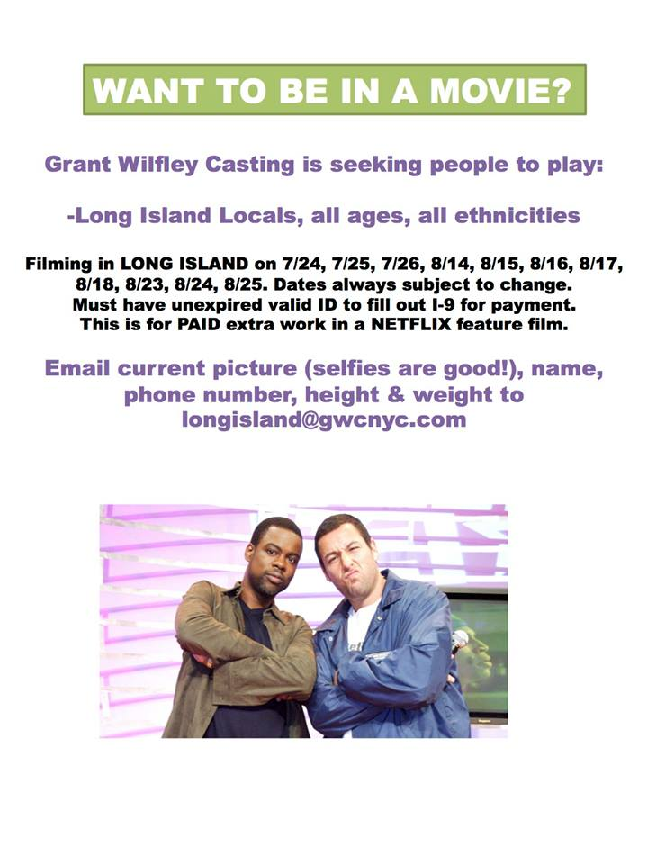 movie casting in NY