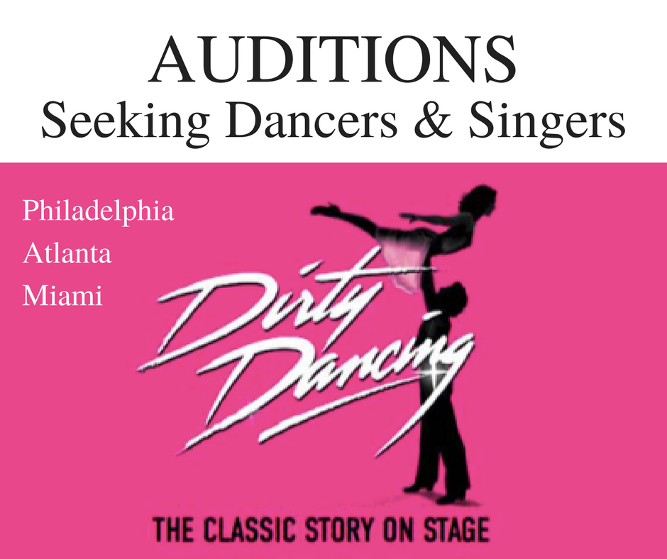 Audition for Dirty Dancing national tour