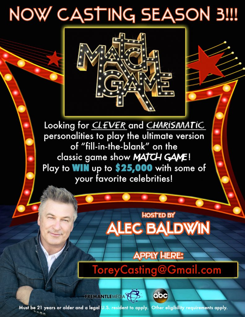 Match Game contestant auditions