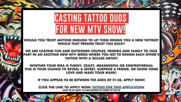 MTV tattoo show