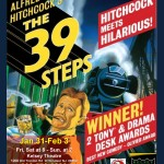 OPEN AUDITIONS for THE 39 STEPS – New Jersey – Paid