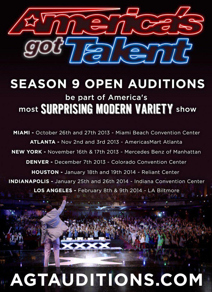 america u0026 39 s got talent new york auditions  u0026 nationwide