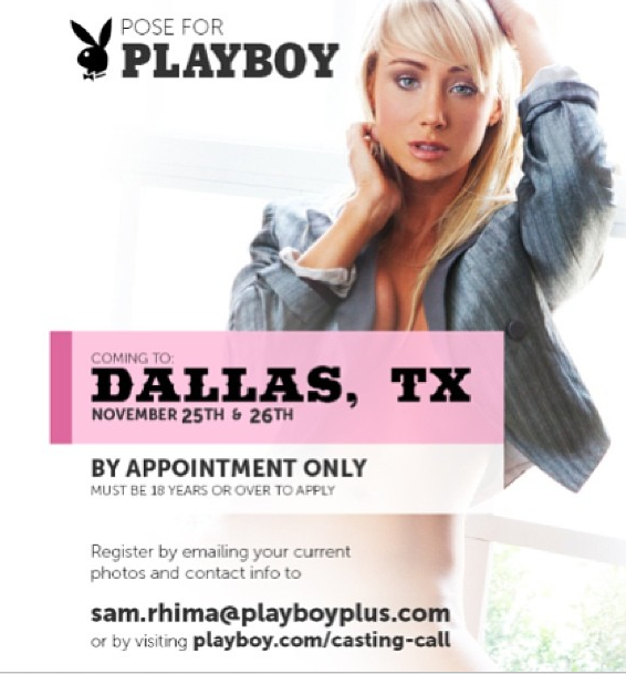 Auditions for Playboy   Auditions Free