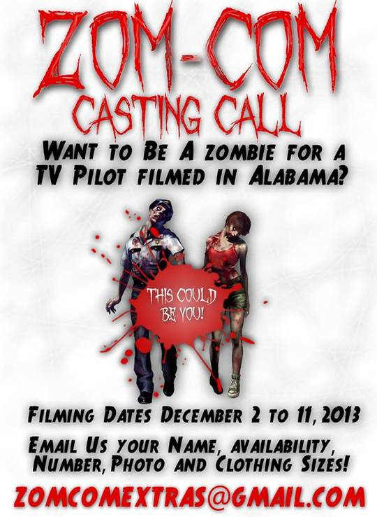 Alabama movie auditions