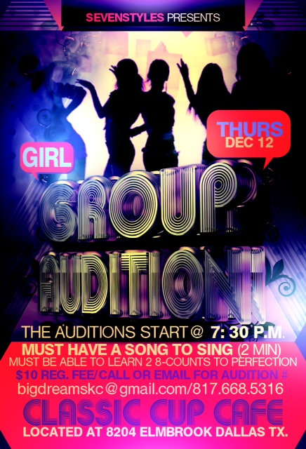 Dallas Texas Girl Singing Group