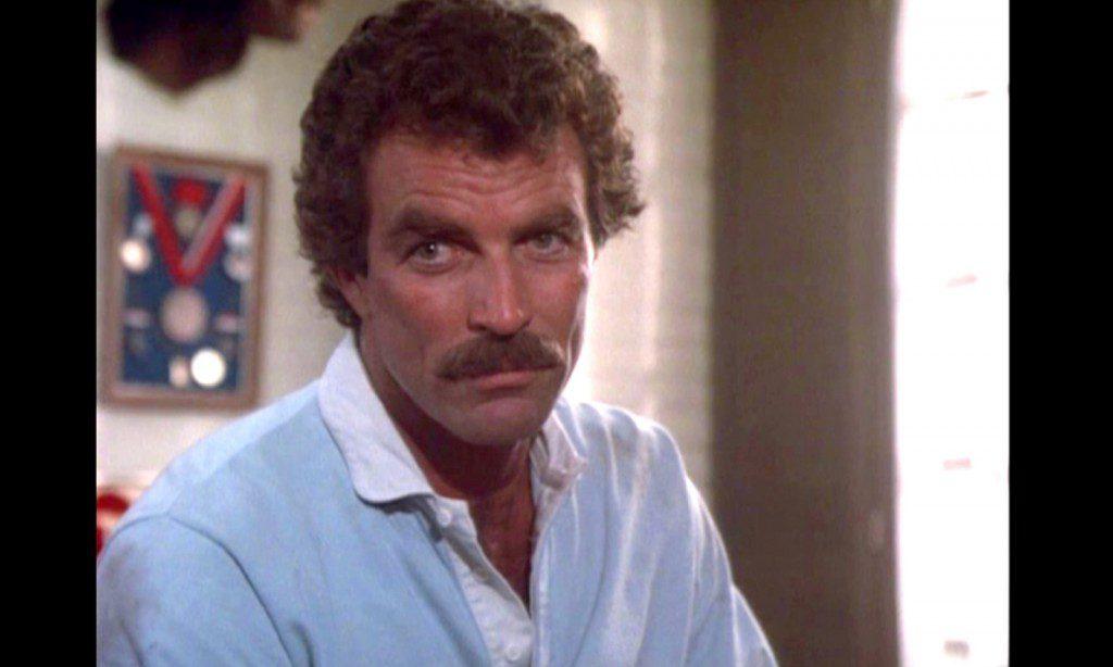 Tom Selleck casting call for Hoke 80s looks