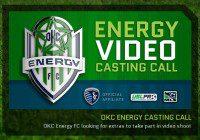 OKC casting call for Energy soccer