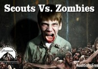 "Casting call for zombies on ""Scouts Vs. Zombies"""