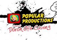 Doron Offic casting call for new reality / docu series