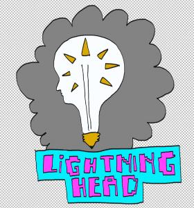 lightning head