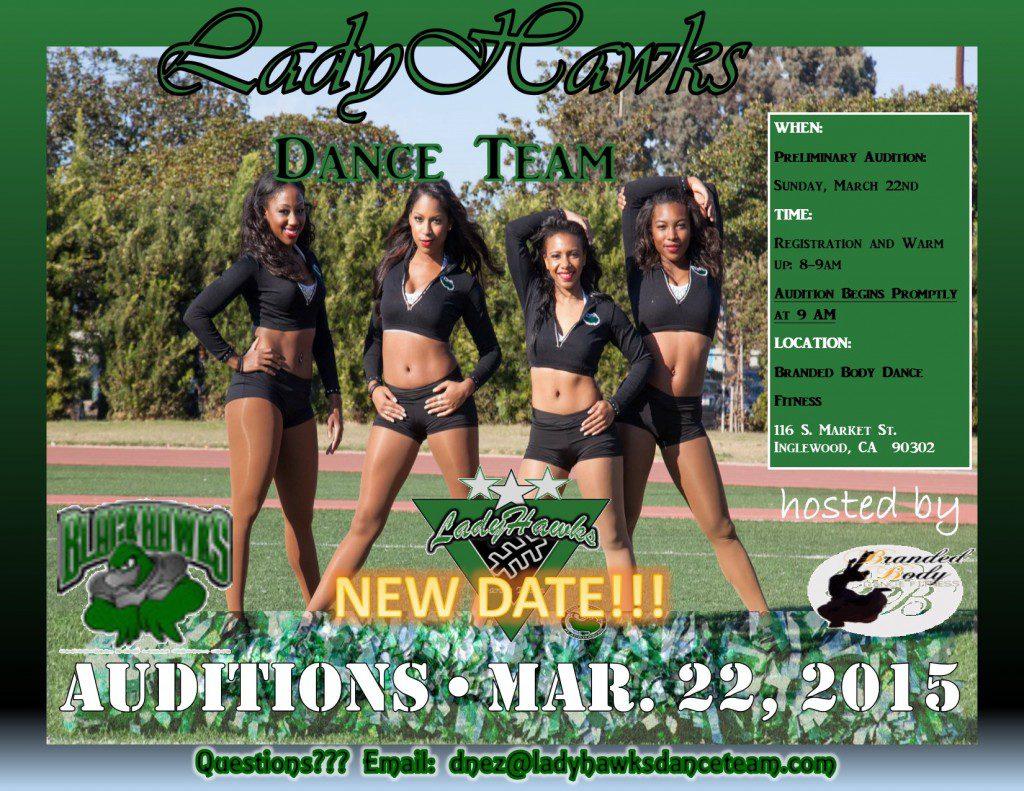 dance team / cheerleader tryouts