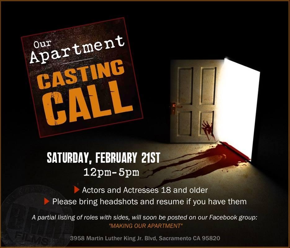 Sacramento Casting Call for movie