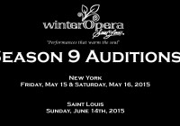 St Louis Opera Auditions in NYC and St. Louis