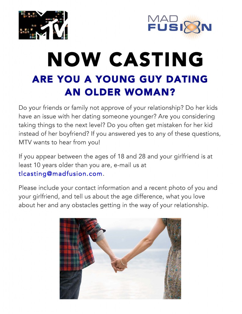 MTV Show Casting May – December Couples   Auditions Free