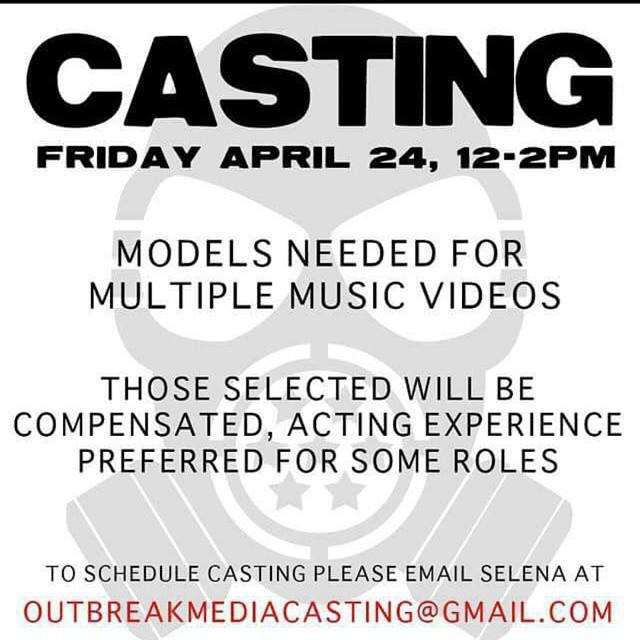 Casting Flyer Miami