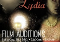 """Auditions in Asheville, NC for """"Lydia"""""""