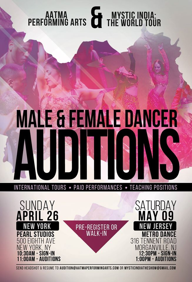 bollywood dance auditions in new jersey  u0026 new york