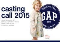 Gap casting call for Canada and the UK