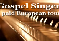Auditions for gospel singers to go on international tour