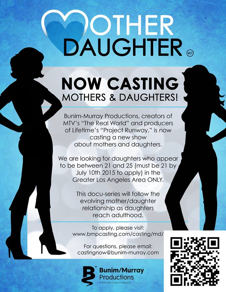 Mother / Daughter Casting