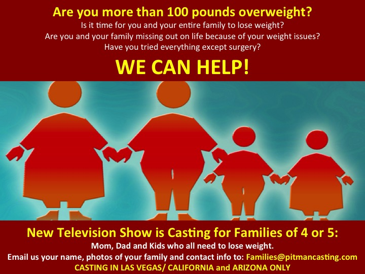 family weight loss flyer 3 auditions free