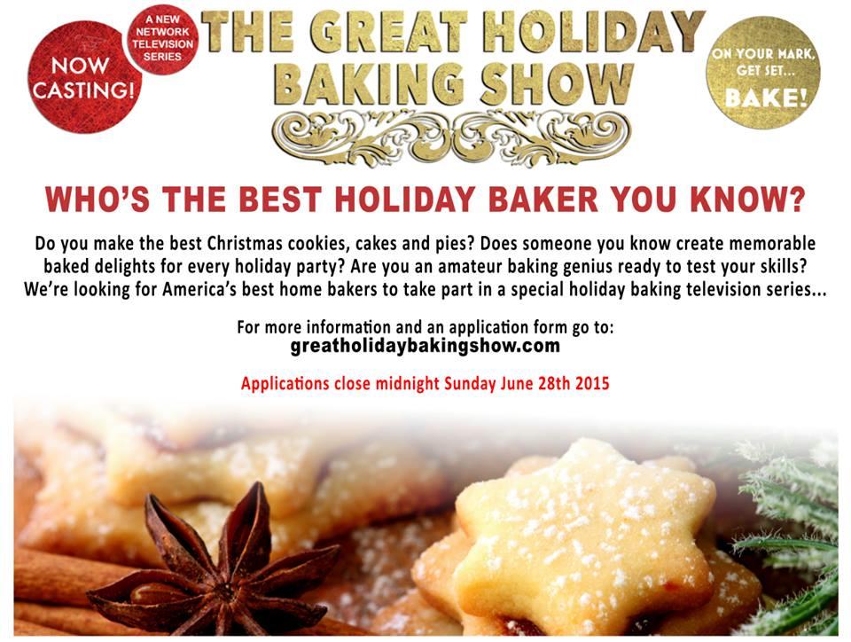 Holiday baking series