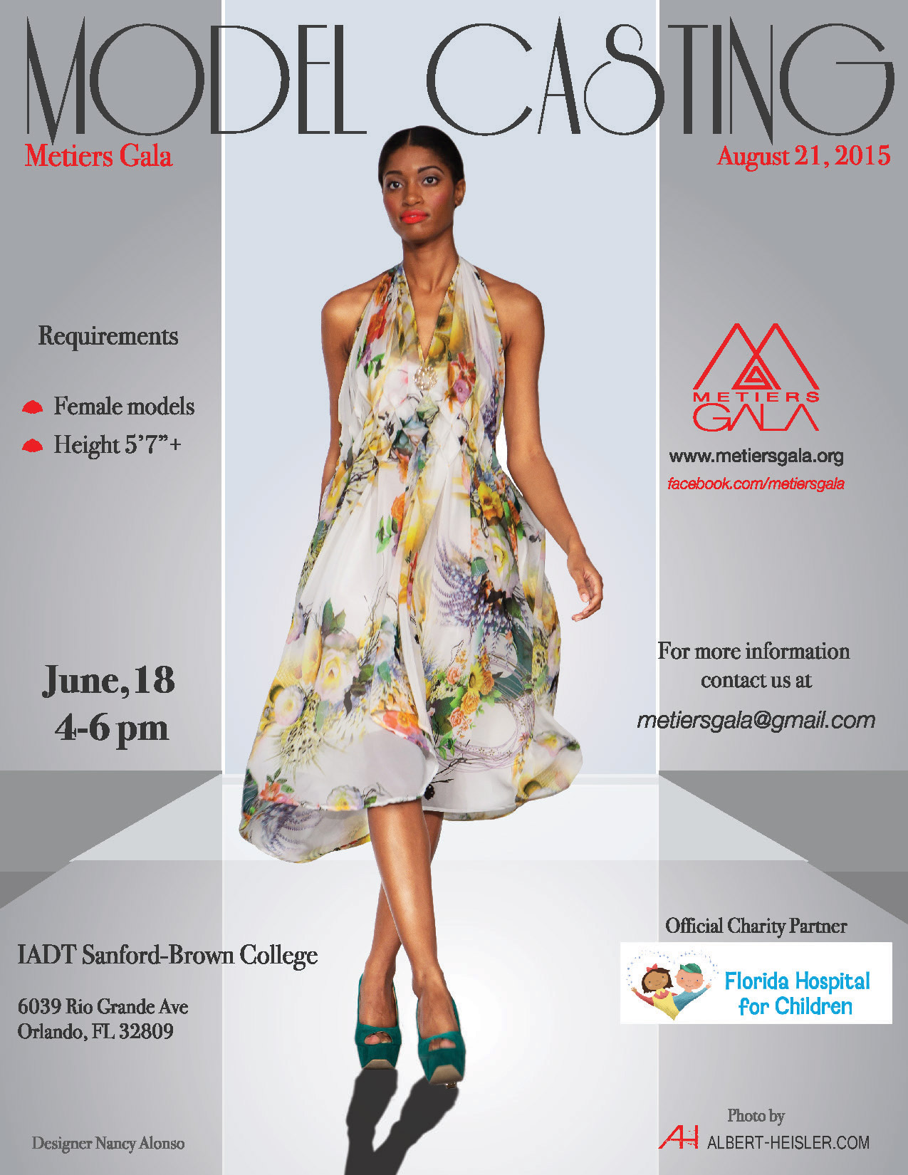 Casting Runway Models In The Orlando Area For Charity Fashion Show Auditions Free