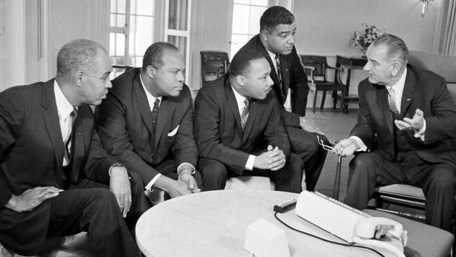 lbj_civil-rights-leaders