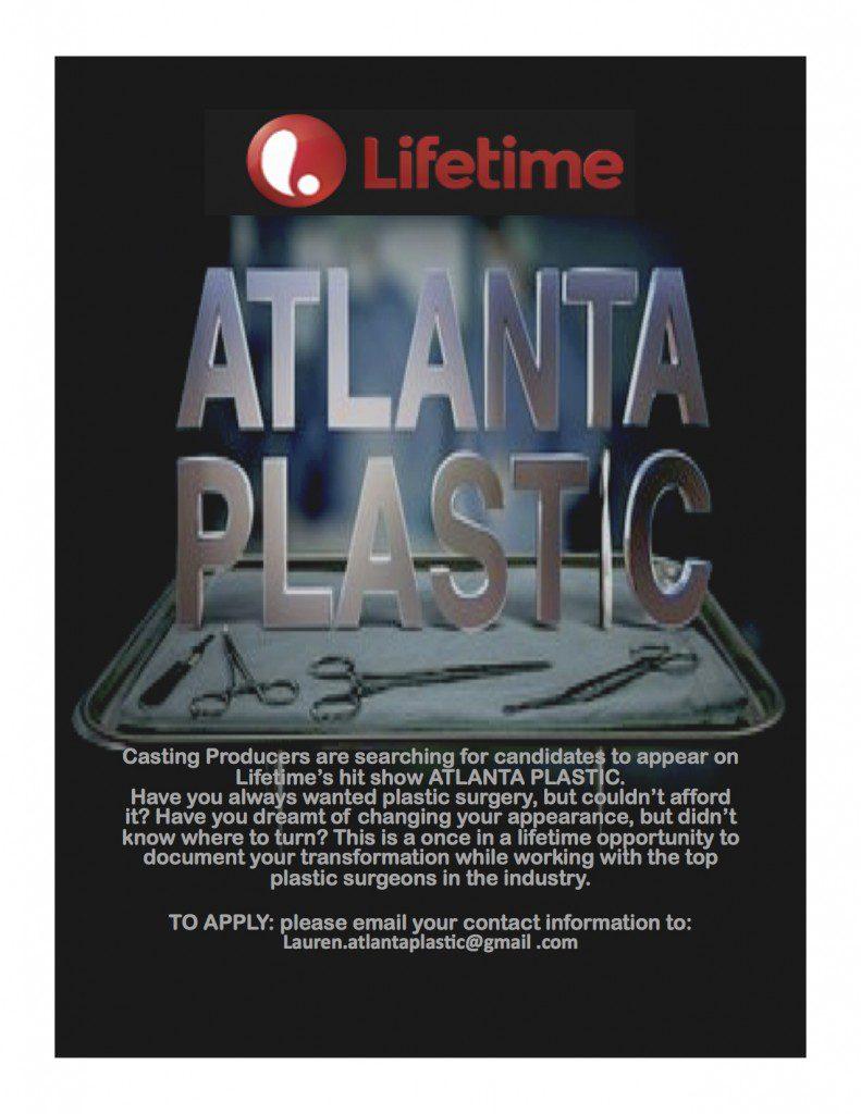 Atlanta Plastic Casting Flyer
