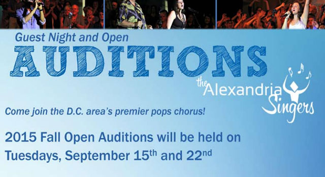 Singers wanted in DC