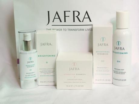 Jafra skin care models