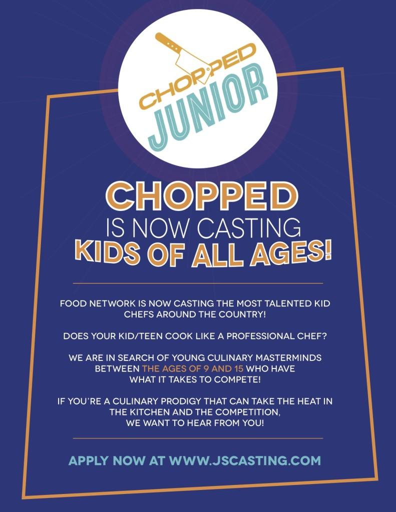 Now casting Chopped Jr.