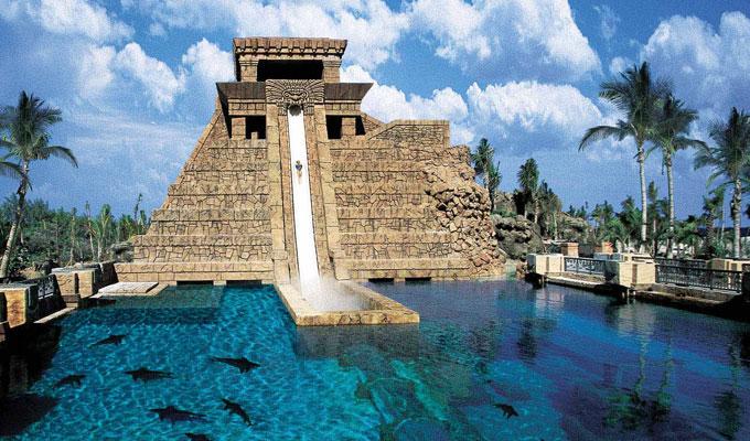 Family casting for Atlantis resort